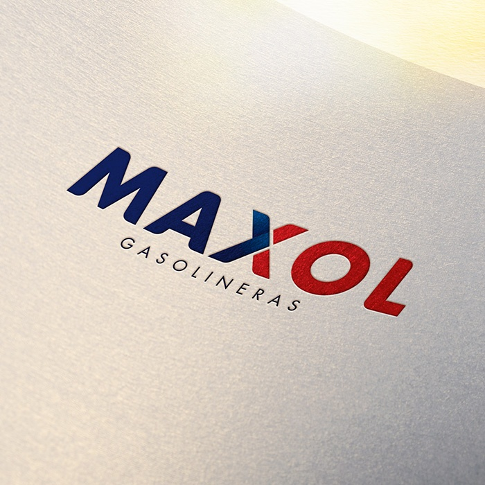 MAXOL gasolineras logo a color