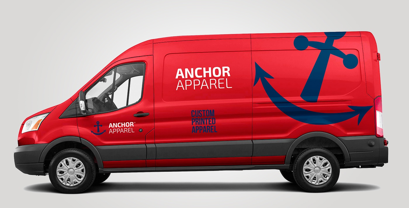 Camioneta Anchor Apparel